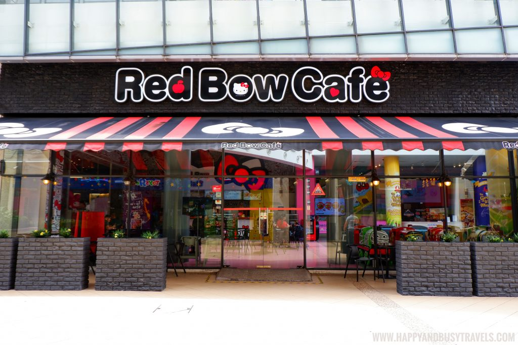 Red Bow Cafe Hello Kitty Town Puteri Harbour Johor Malaysia Happy and Busy Travels
