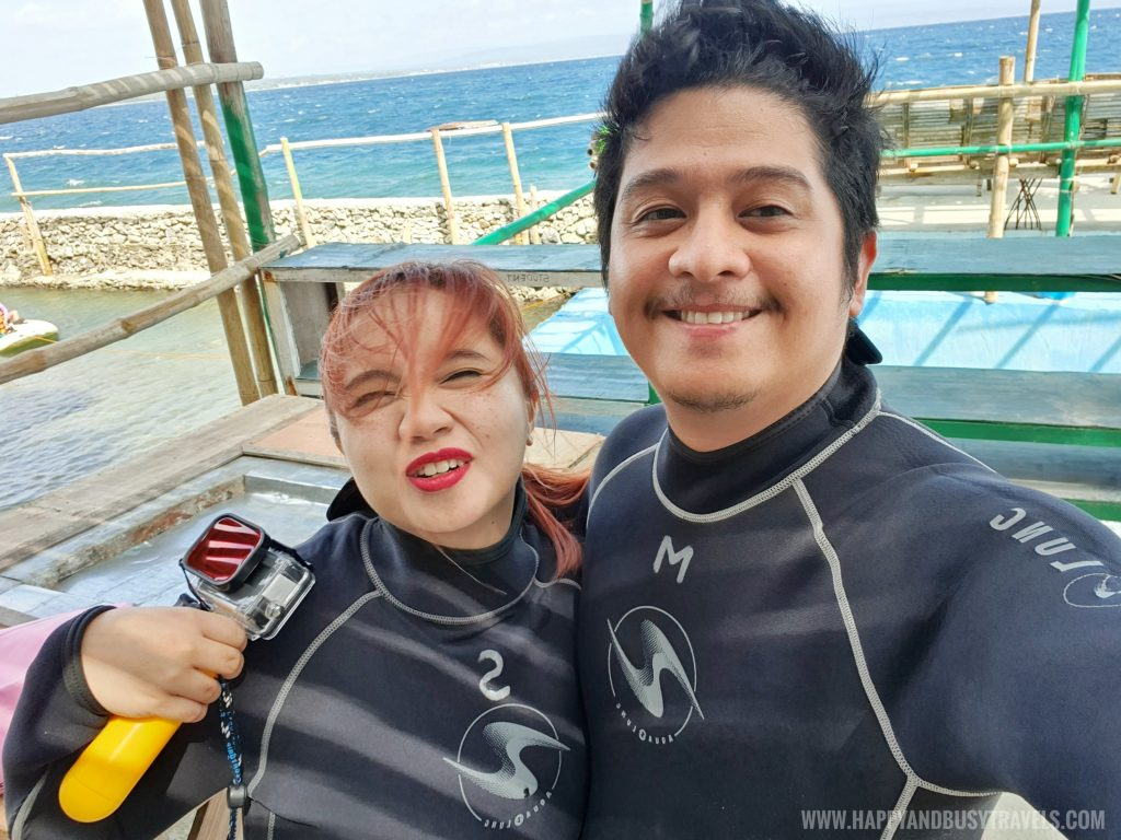 ready for the Introduction to Scuba Diving in Summer Cruise Dive Resort Batangas review of Happy and Busy Travels
