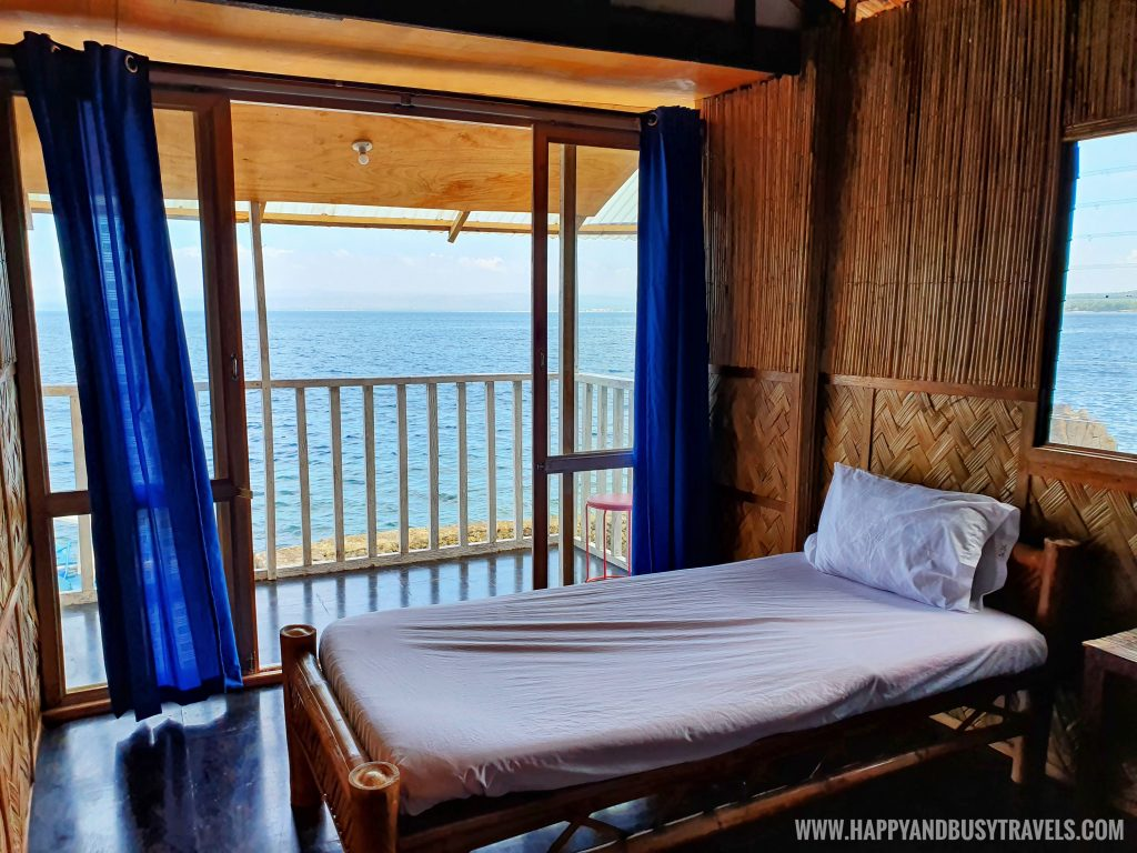 Room number 1 accommodation of Summer Cruise Dive Resort Batangas review of happy and busy travels