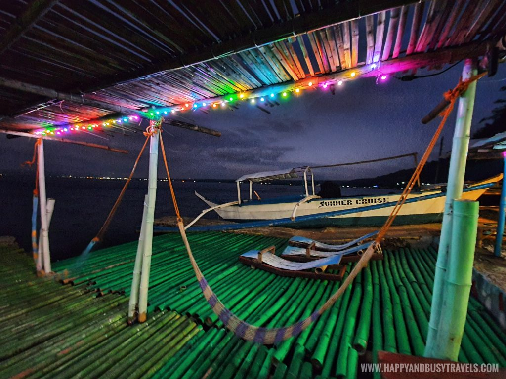 at night Summer Cruise Dive Resort Batangas review of happy and busy travels
