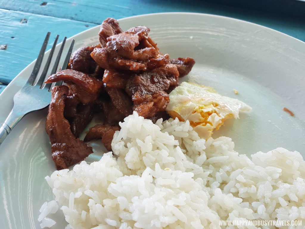 Beef Tapa in Summer Cruise Dive Resort Batangas review of happy and busy travels