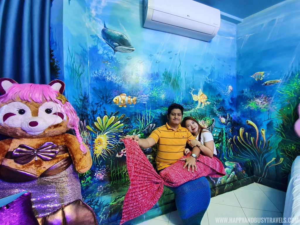 Atlantis room Bearseum Suites Hotel in Tagaytay Happy and Busy Travels review