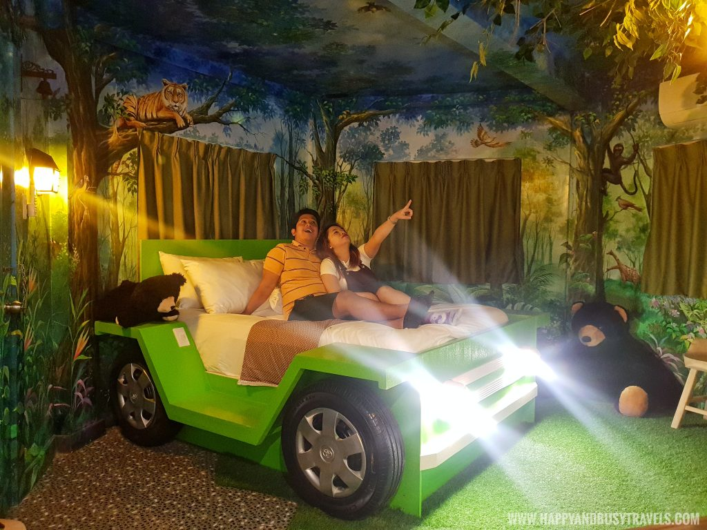 Woodland room Bearseum Suites Hotel in Tagaytay Happy and Busy Travels review