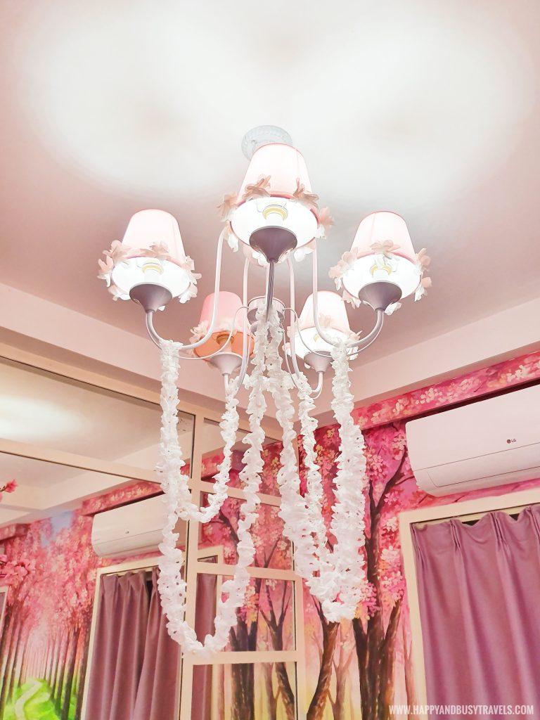 Cherryblossom chandelier