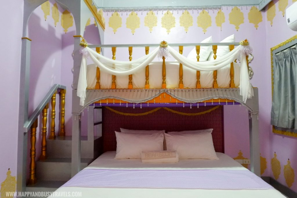Royal Delight room Bearseum Suites Hotel in Tagaytay Happy and Busy Travels review