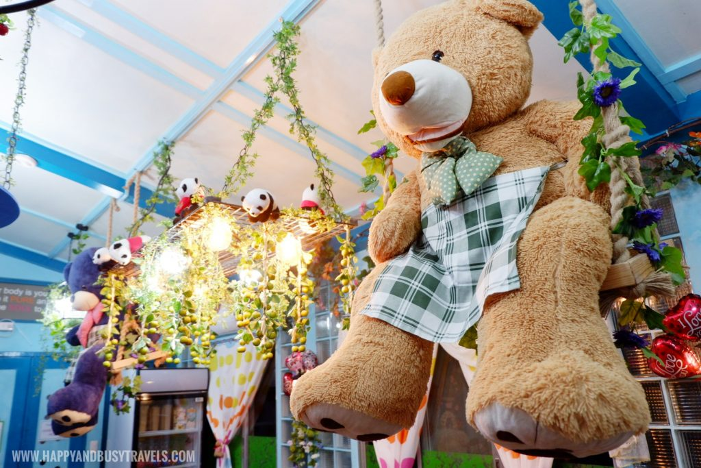 teddy bear Kitchen food and dining Bearseum Suites Hotel in Tagaytay Happy and Busy Travels review