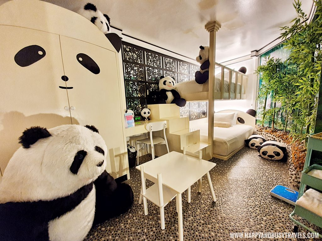 Panda room in Woodland room Bearseum Suites Hotel in Tagaytay Happy and Busy Travels review