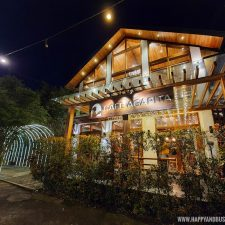 night at Cafe Agapita Silang Cavite near Tagaytay Happy and Busy Travels Review