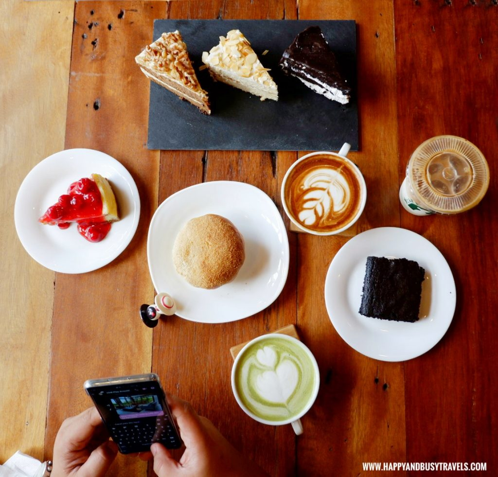 drinks cakes and pastries Cafe Agapita Silang Cavite near Tagaytay Happy and Busy Travels Review