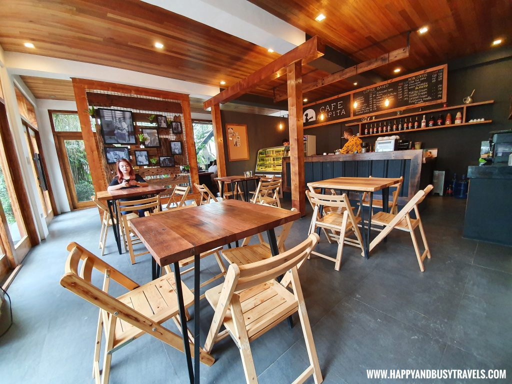 Inside first floor Cafe Agapita Silang Cavite near Tagaytay Happy and Busy Travels Review