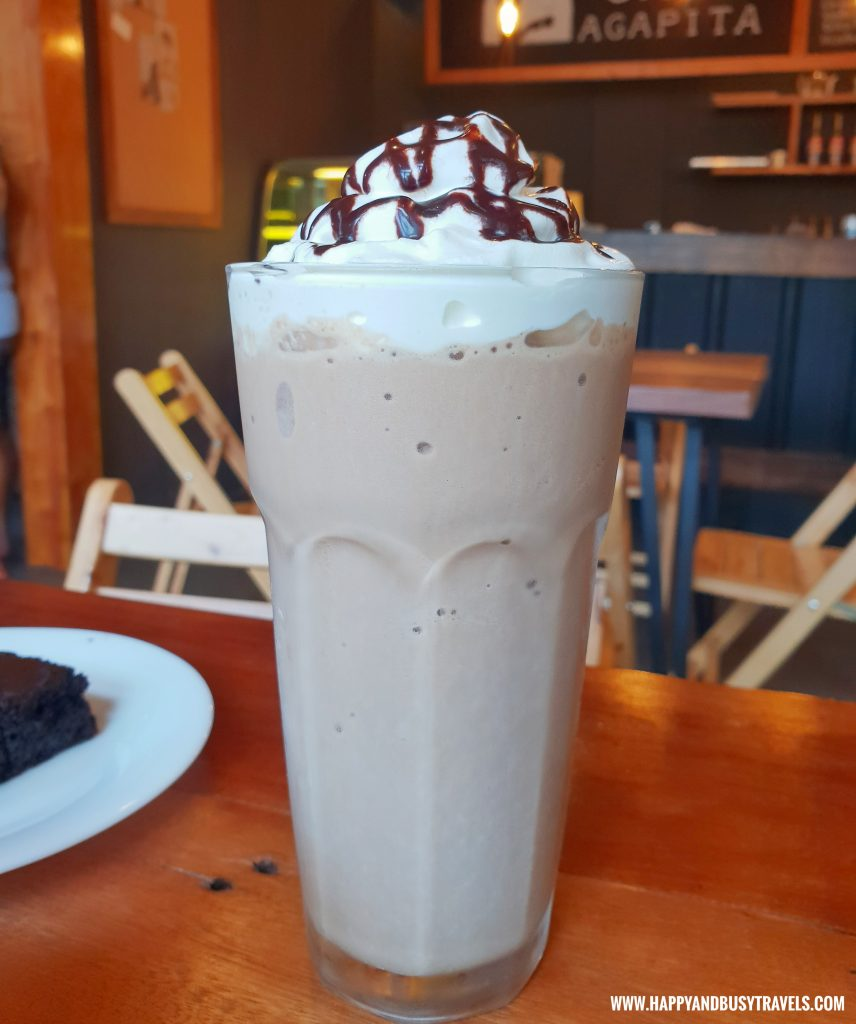 Mocha Frappe Cafe Agapita Silang Cavite near Tagaytay Happy and Busy Travels Review