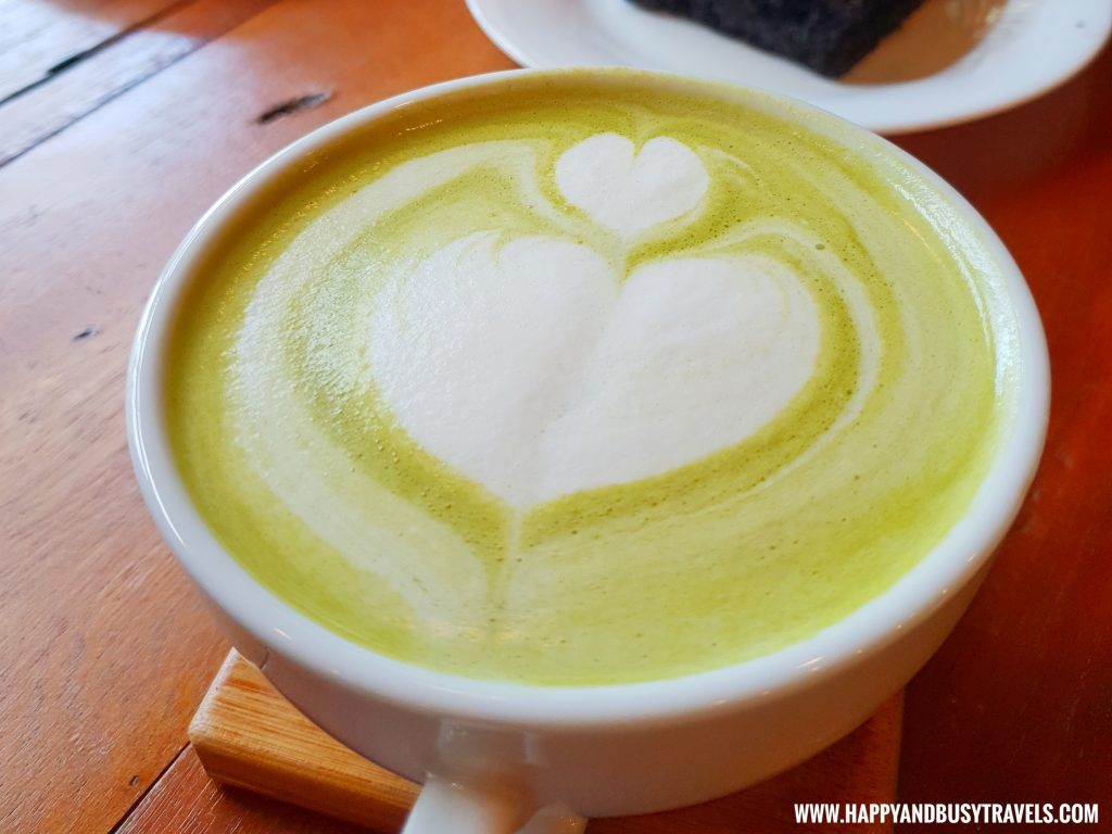 Matcha Latte Cafe Agapita Silang Cavite near Tagaytay Happy and Busy Travels Review