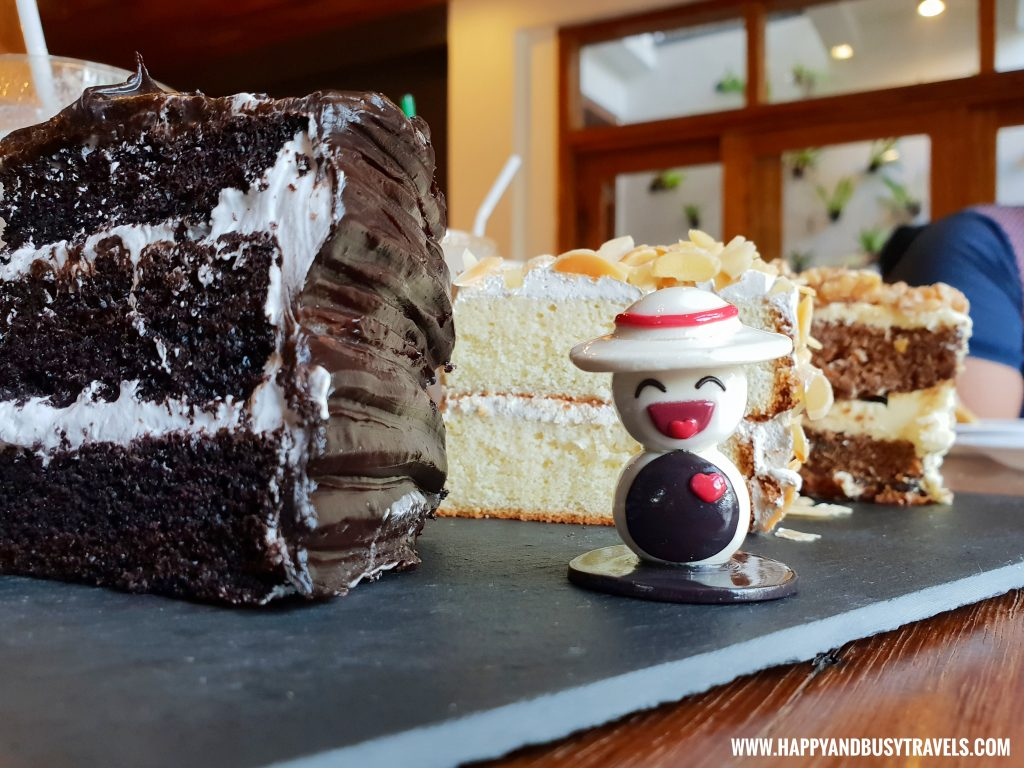 Heaven and Earth Chocolate Cake Cafe Agapita Silang Cavite near Tagaytay Happy and Busy Travels Review