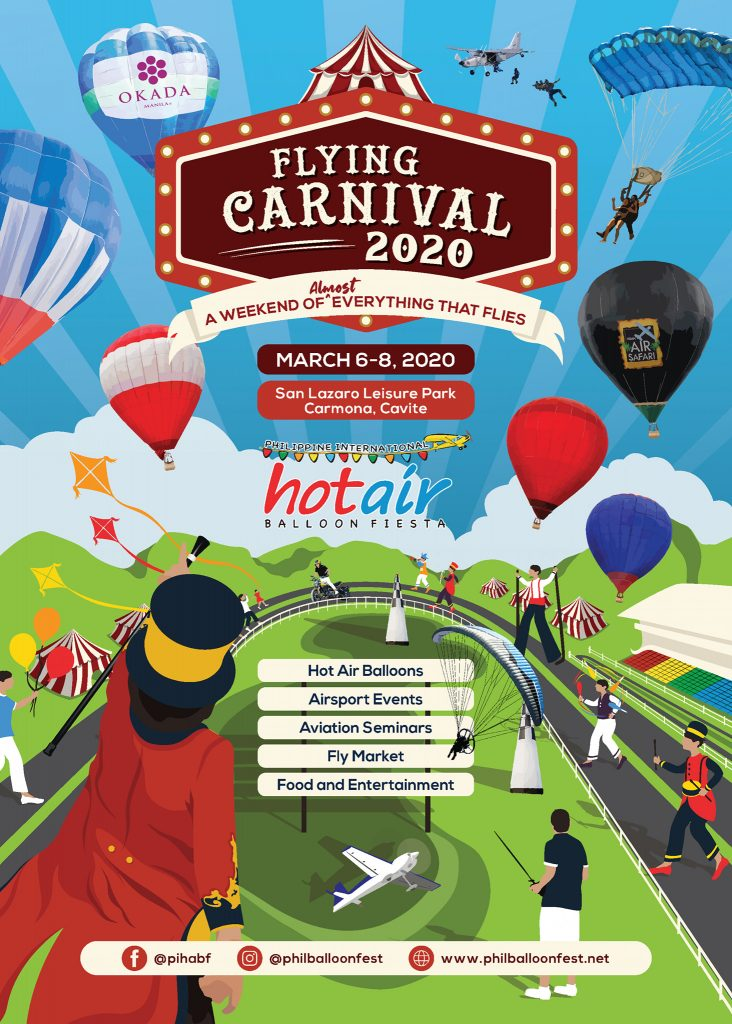 Flying Carnival 2020 - A Weekend of almost everything that flies - Happy and Busy Travels