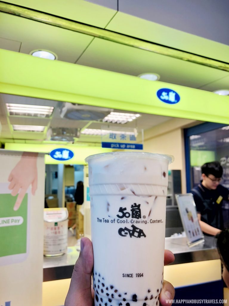 50 Lan (50嵐) Milk Tea - Happy and Busy Travels to Taiwan