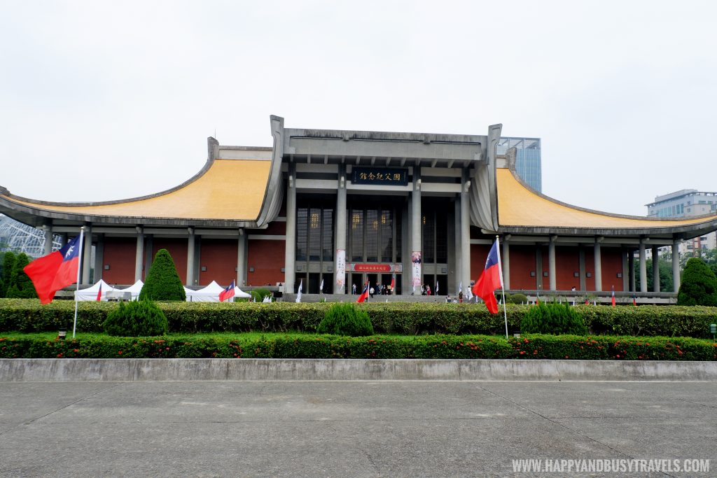 Dr Sun Yat sen Memorial Hall 國父紀念館 - Happy and Busy Travels to Taiwan