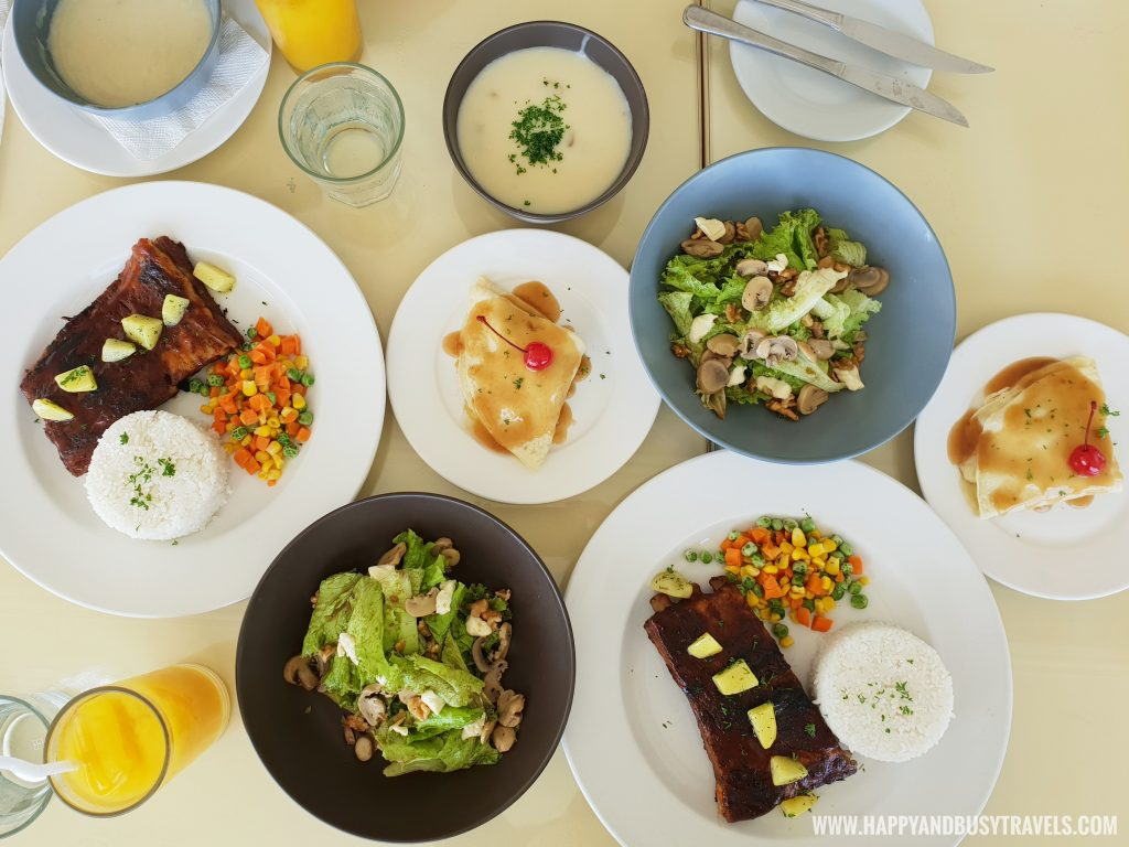 lunch in restaurant Estancia Resort Hotel Happy and Busy Travels to Tagaytay