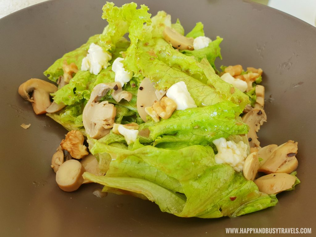 garden salad Estancia Resort Hotel Happy and Busy Travels to Tagaytay