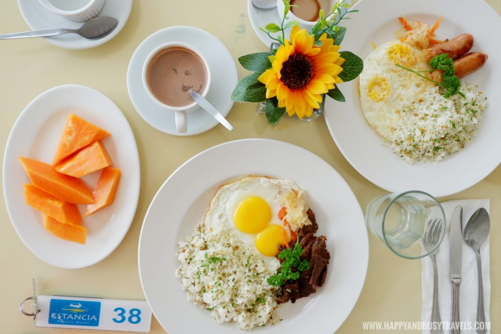 Breakfast Estancia Resort Hotel Happy and Busy Travels to Tagaytay
