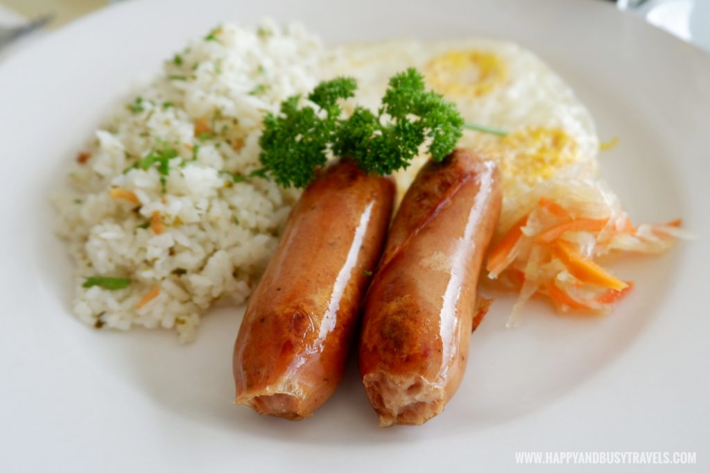 Big Breakfast Longganisa Estancia Resort Hotel Happy and Busy Travels to Tagaytay