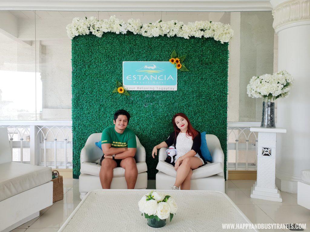 reception Estancia Resort Hotel Happy and Busy Travels to Tagaytay