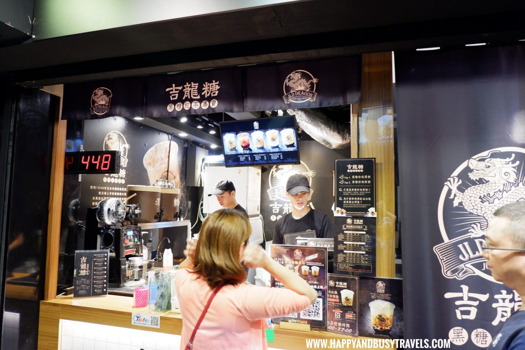 Just Love Drink JLD Dragon Milk Tea Taiwan Happy and Busy Travels review