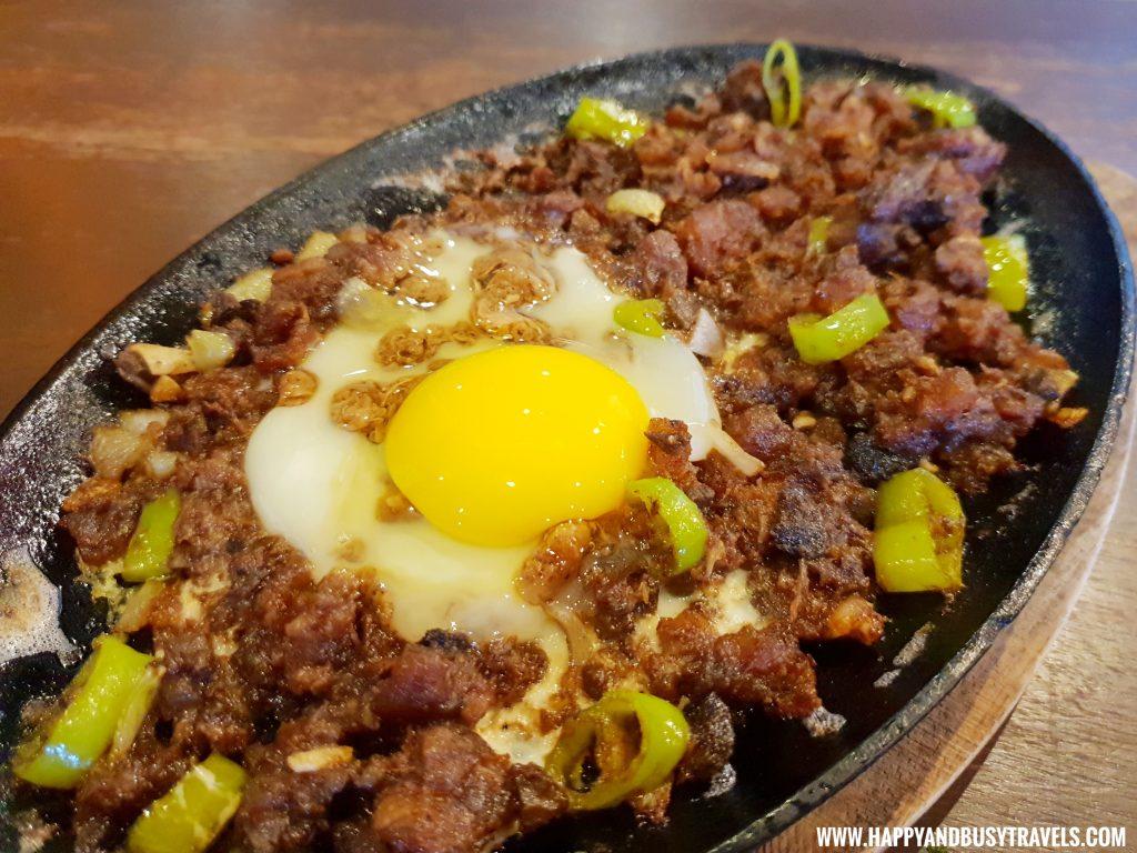 Pork Sisig Kopita Restaurant formerly Brunchers PTT piela - Happy and Busy Travels