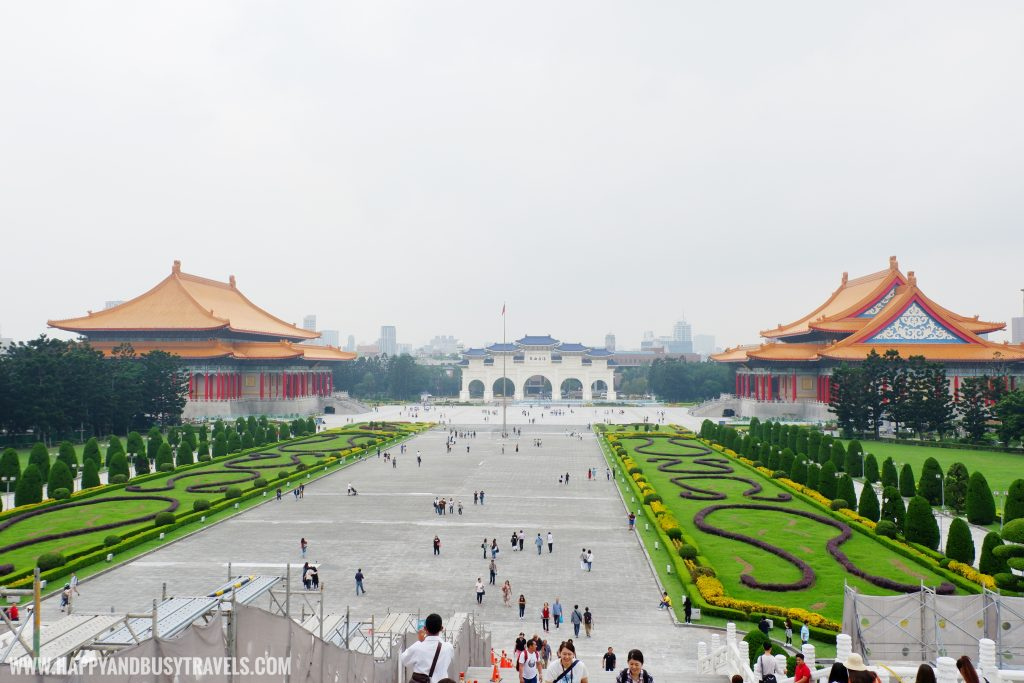 National Chiang Kai Shek Memorial Hall 中正紀念堂 Democracy lane Happy and Busy Travels to Taiwan