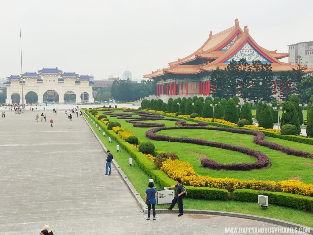 National Chiang Kai Shek Memorial Hall 中正紀念堂 National Concert Hall Happy and Busy Travels to Taiwan