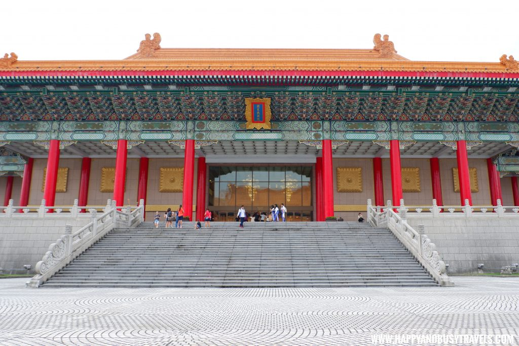 National Chiang Kai Shek Memorial Hall 中正紀念堂 National Theater Happy and Busy Travels to Taiwan