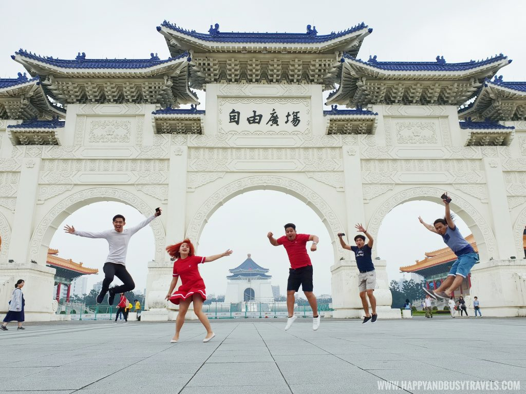 National Chiang Kai Shek Memorial Hall 中正紀念堂 Archway Happy and Busy Travels to Taiwan