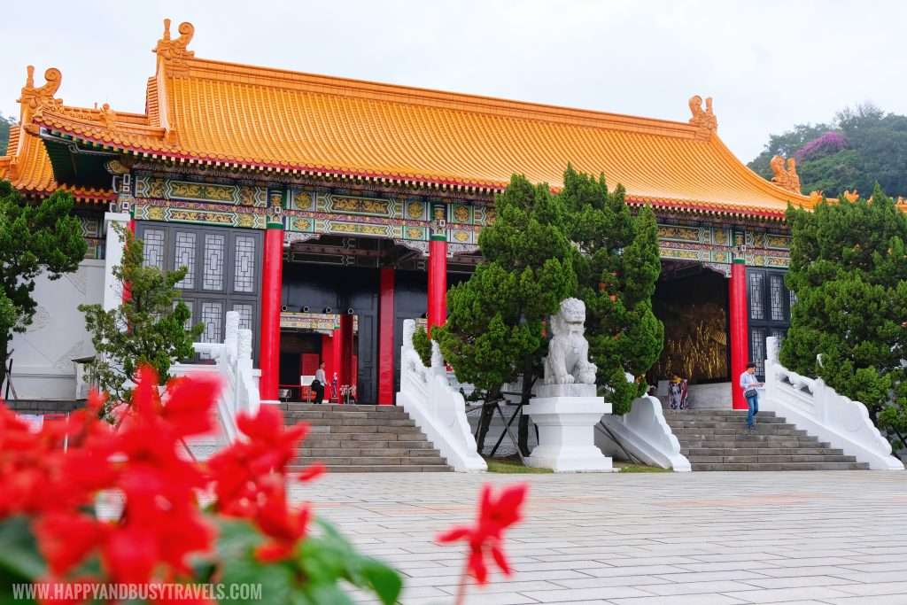 Entrance Building National Revolutionary Martyrs Shrine 國民革命忠烈祠 - Happy and Busy Travels to Taiwan