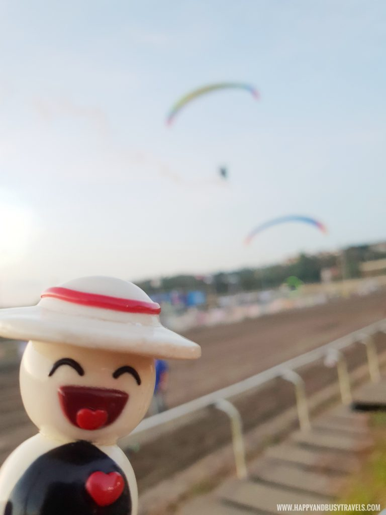 Hapsy and paragliding