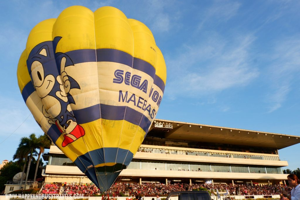 sonic the hedgehog sega world maebashi Philippine International Hot Air Balloon Festival Flying Carnival 2020