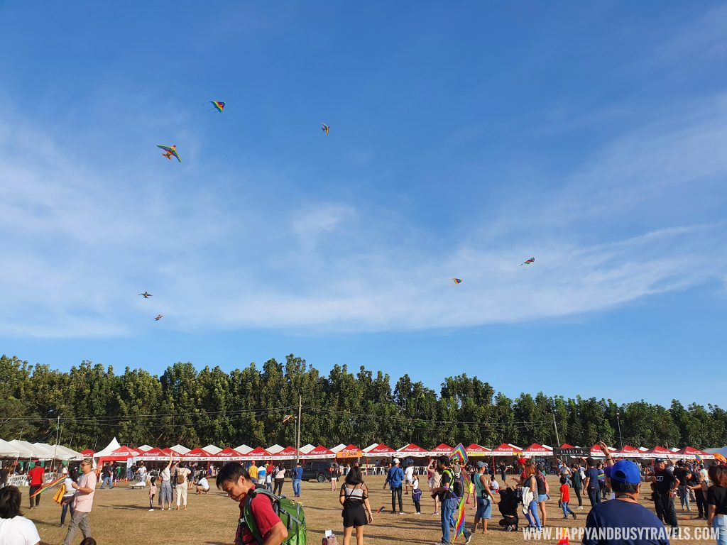 kite flying Philippine International Hot Air Balloon Festival Flying Carnival 2020 carmona cavite Happy and Busy review