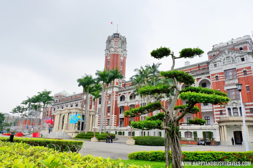 Taiwan's Presidential Office Building Happy and Busy Travels to Taiwan