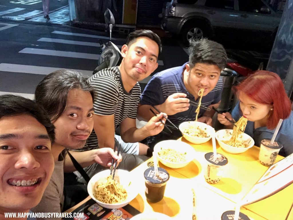 Sad Super Hot Noodles taiwan Happy and Busy Travels review