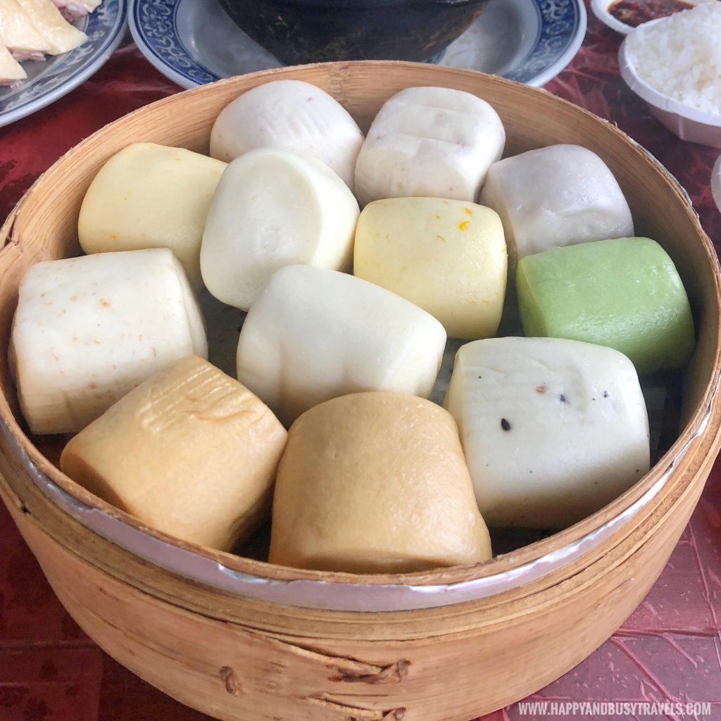 手工小饅頭 Handmade Small Buns Miao Bang Garden Restaurant Alocasia Callalily 苗榜海芋園 - Happy and Busy Travels to Taiwan