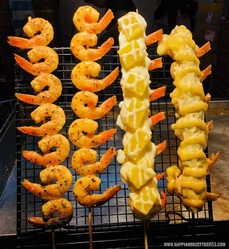 shrimp Shilin Night Market Food Trip Happy and Busy Travels to Taiwan