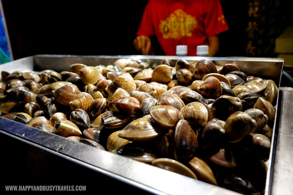clams Shilin Night Market Food Trip Happy and Busy Travels to Taiwan