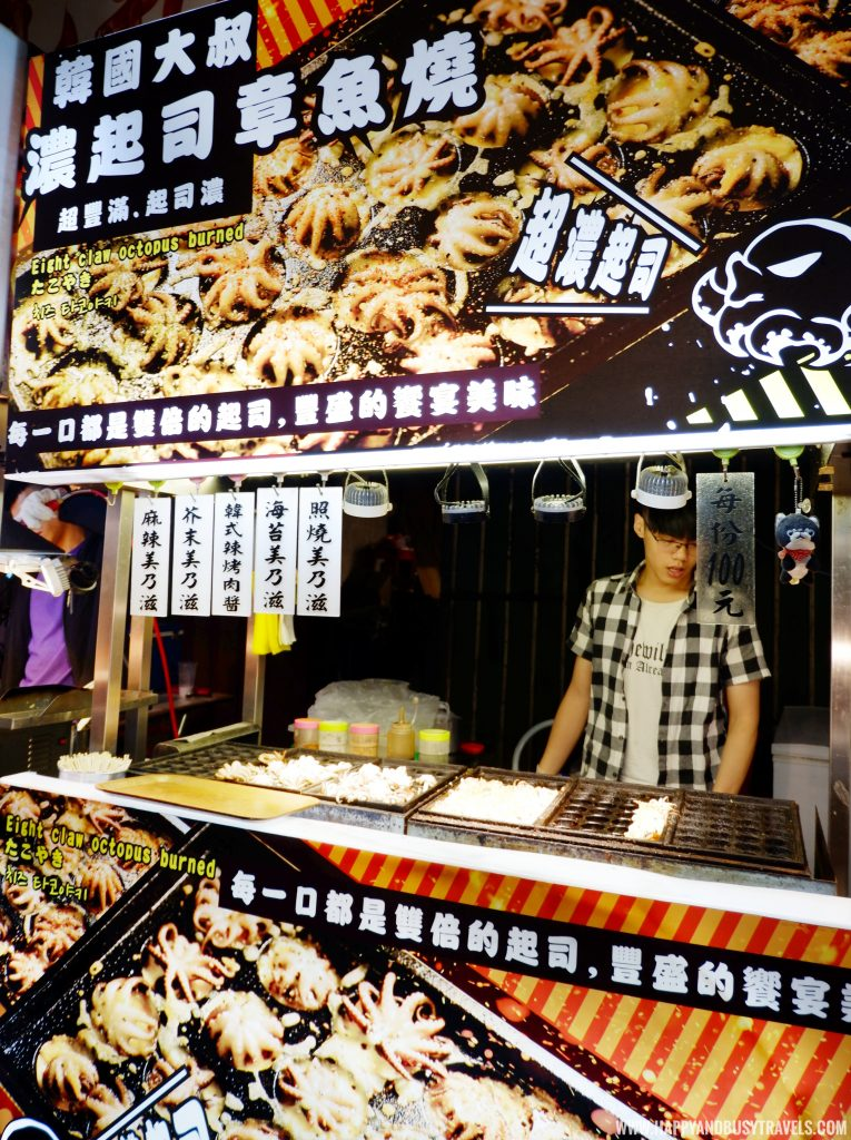 takoyaki Shilin Night Market Food Trip Happy and Busy Travels to Taiwan