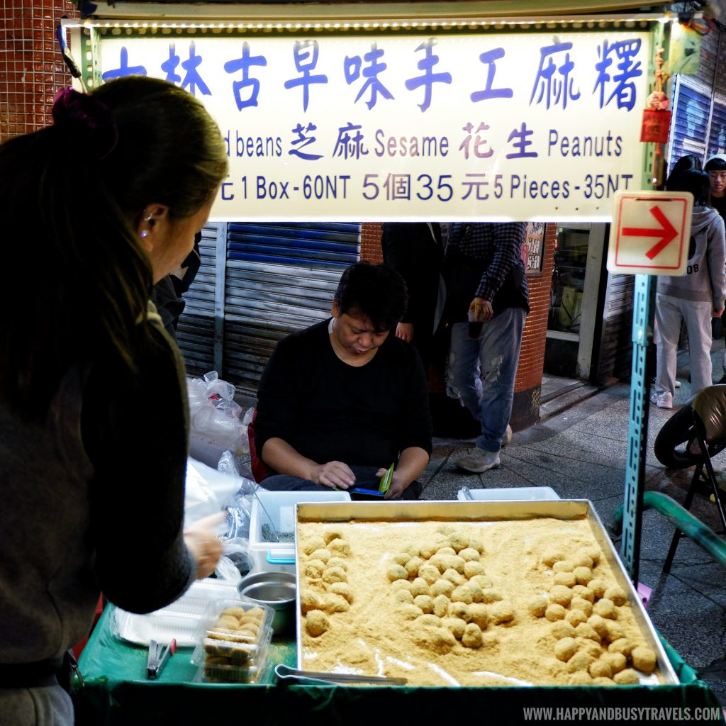 Sesame Balls Shilin Night Market Food Trip Happy and Busy Travels to Taiwan