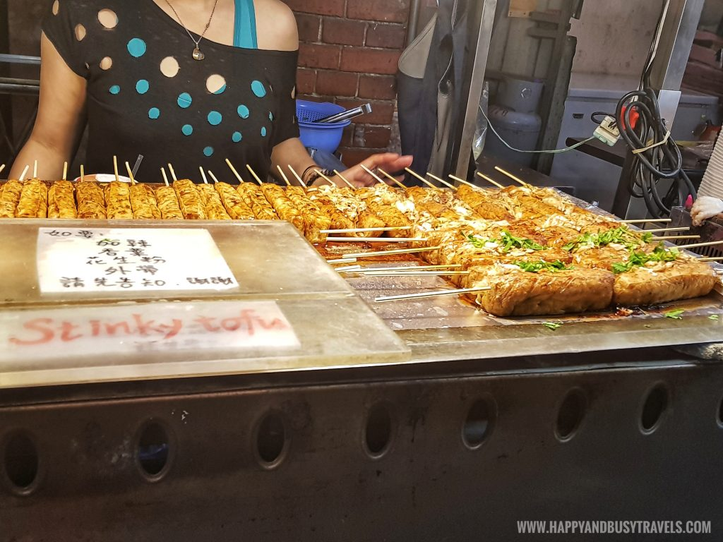 stinky tofu Shilin Night Market Food Trip Happy and Busy Travels to Taiwan