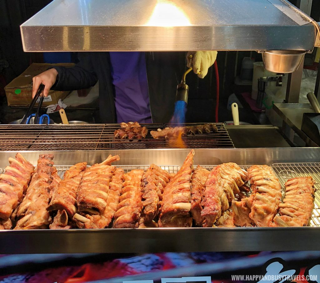 baby back ribs Shilin Night Market Food Trip Happy and Busy Travels to Taiwan