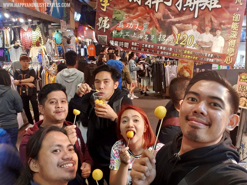 sweet potato balls Shilin Night Market Food Trip Happy and Busy Travels to Taiwan