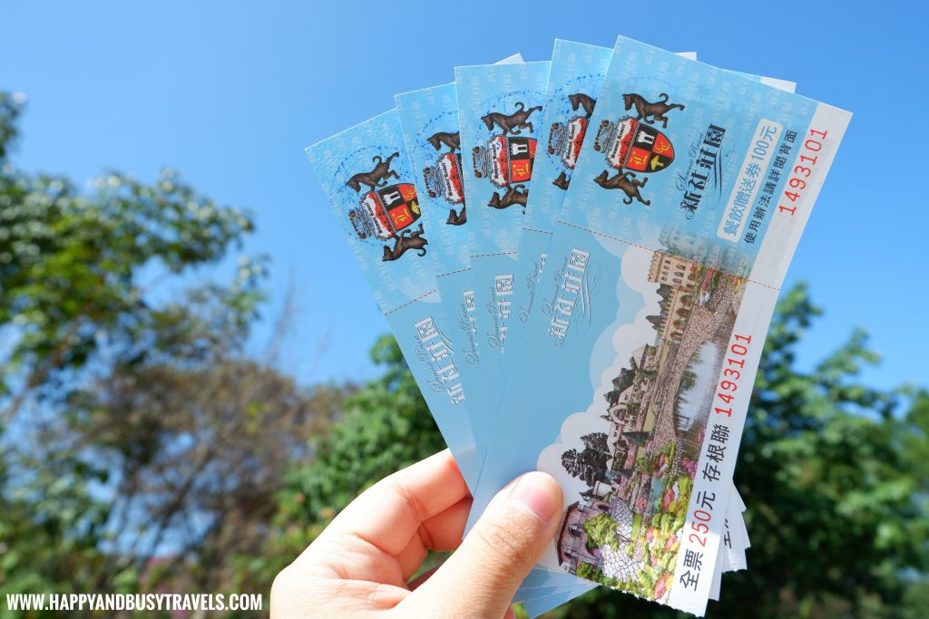 tickets to Xinshe Castle Summit Resort Taichung Happy and Busy Travels to Taiwan