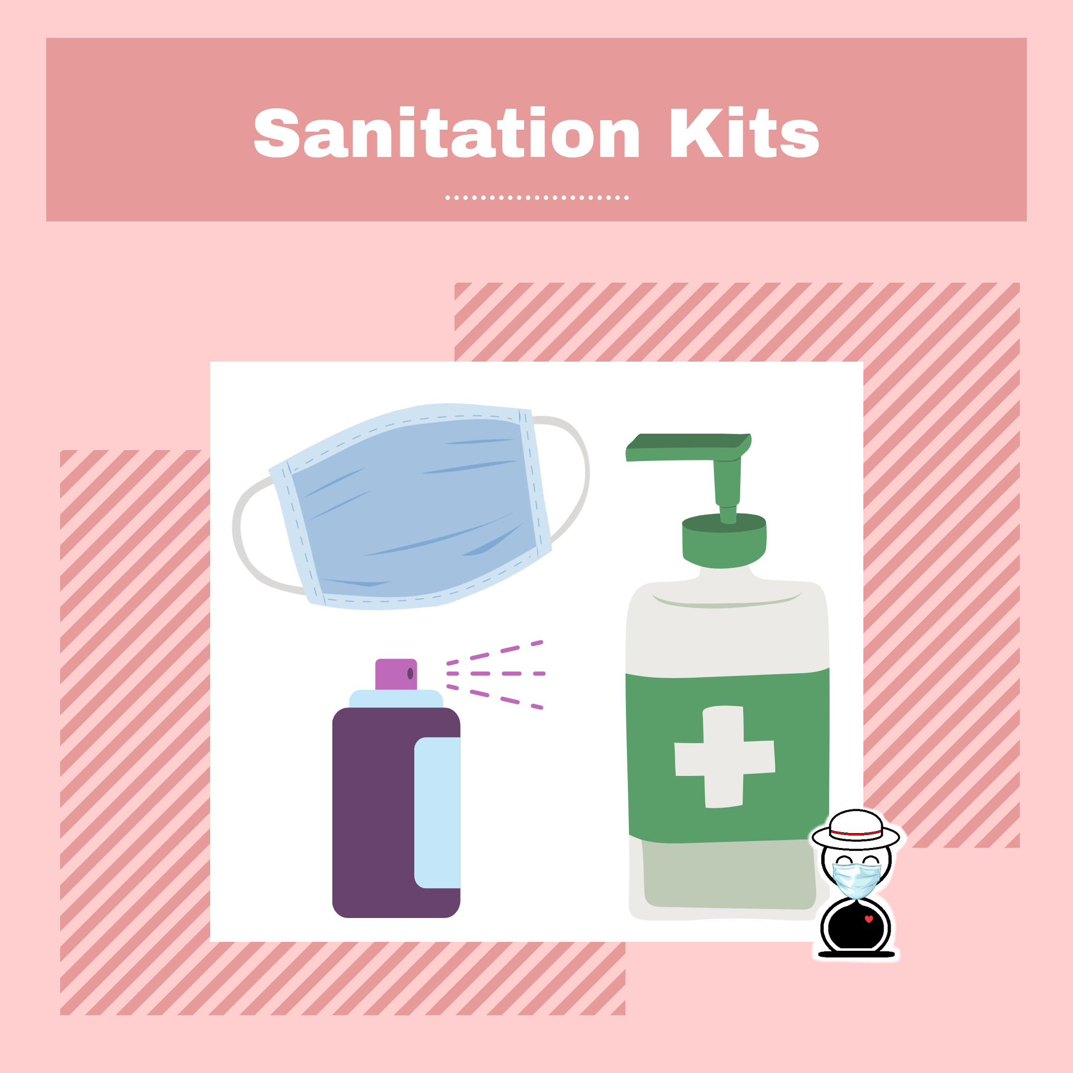 New Normal in Accommodations - sanitation kits - Happy and Busy Travels