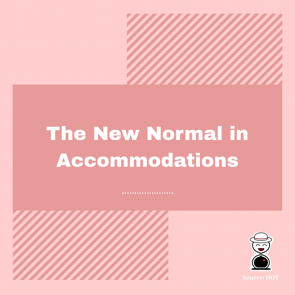 New Normal in Accommodations - Happy and Busy Travels