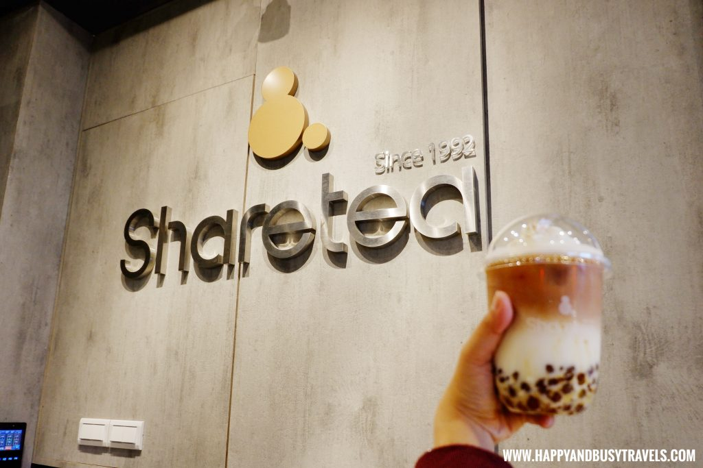 Sharetea Milk Tea - Happy and Busy Travels to Taiwan