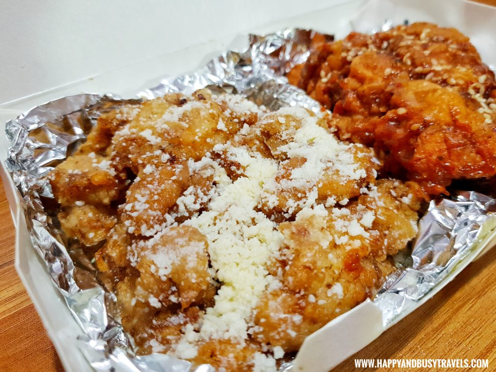 Chick A Minute Boneless Garlic Parmesan - Chicken Wings home delivery service in Cavite - Happy and Busy Travels